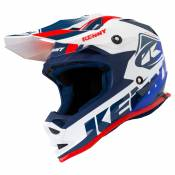 Casque cross Kenny TRACK WHITE RED ENFANT