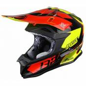 Casque cross Just1 J32 Pro Kick noir / rouge / jaune- XL
