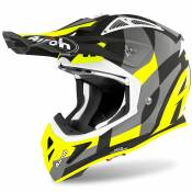 Casque cross Airoh AVIATOR ACE - TRICK - YELLOW MATT 2021