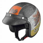 Casque jet Held BLACK BOB Design Crushed noir - S