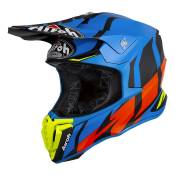 Casque cross Airoh Twist Great bleu mat - M