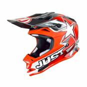 Casque cross Just1 J32 Moto X rouge- L