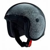 Casque jet Caberg JET FREERIDE METAL FLAKE noir - XL
