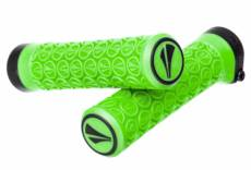 Paire de grips sdg slater junior lock on vert fluo