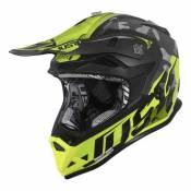 Casque cross Just1 J32 Pro Swat camouflage / jaune- L