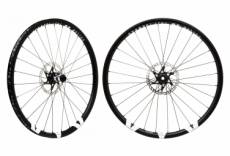 Paire de roues fast forward outlaw am al 29 tubeless dt 350 15x100 12x142mm noir shimano sram
