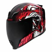 Casque intégral Icon Airflite Trumbull™ rouge- XL