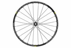 Roue avant 2020 mavic crossmax elite 27 5 boost 15x110mm 6 trous noir