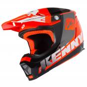 Casque cross Kenny PERFORMANCE NEON ORANGE 2020