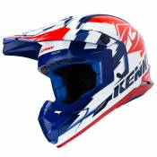 Casque cross Kenny TRACK NAVY WHITE RED 2019