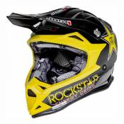 Casque cross Just1 J32 Rockstar noir mat- XS