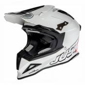 Casque cross Just1 J12 Solid blanc- XXL