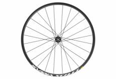 Roue avant 2020 mavic crossmax 27 5 boost 15x110mm 6 trous noir