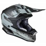 Casque cross Just1 J32 Pro Kick Titanium mat- L