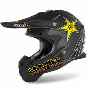 Casque cross Airoh TERMINATOR OPEN VISION - ROCKSTAR NEW - MATT 2020