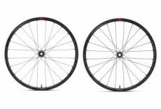 Paire de roues fulcrum rapid red 5 disc 12x100 12x142 mm centerlock sram xdr