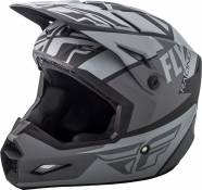 Casque cross Fly Racing Elite Guild gris/noir - XS