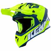 Casque cross Kenny TROPHY - GRAPHIC - NEON YELLOW 2020