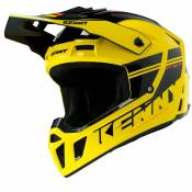 Casque cross Kenny PERFORMANCE PRF - GRAPHIC - YELLOW BLACK 2020