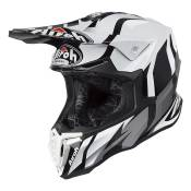 Casque cross Airoh Twist Great gris/blanc brillant - L