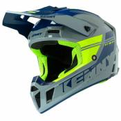 Casque cross Kenny PERFORMANCE PRF - GRAPHIC - GREY NEON YELLOW 2020