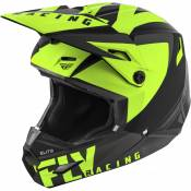 Casque cross enfant Fly Racing Elite Vigilant noir/jaune - YM