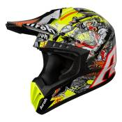 Casque cross Airoh Switch Pirate multicolore brillant - S