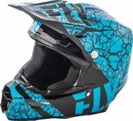 Casque cross Fly Racing F2 Carbon Fracture noir/bleu - M