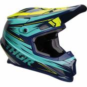Casque cross Thor Sector Warp navy/turquoise- 2XL