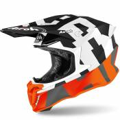 Casque cross Airoh TWIST 2.0 - FRAME - ORANGE MATT 2021
