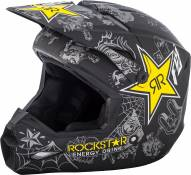 Casque cross Fly Racing Elite Guild Rockstar - XL
