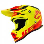 Casque cross Kenny TRACK RED NEON YELLOW ENFANT