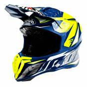 Casque cross Airoh Twist Iron bleu - XXL