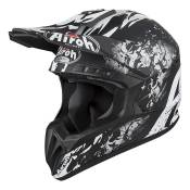 Casque cross Airoh Switch Backbone noir mat - XS