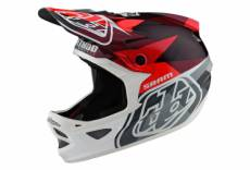 Casque integral troy lee designs d3 carbon mips jet sram rouge xs 52 53 cm