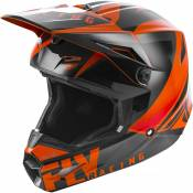 Casque cross Fly Racing Elite Vigilant orange/noir - L