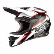 Casque cross O'Neal 3SRS Voltage noir/blanc- L