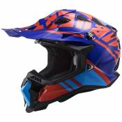 Ls2 Mx700 Subverter Evo Gammax XS Gloss Red / Blue