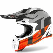 Casque cross Airoh TERMINATOR OPEN VISION - SHOT - ORANGE MATT 2020