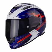 Casque intégral Scorpion EXO-510 AIR CROSS bleu/blanc/rouge - S