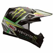 Casque cross Bell CARBON FLEX PRO CIRCUIT REPLICA noir/vert - S