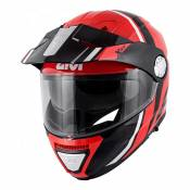 Casque modulable Givi X.33 Canyon Division rouge/noir- XL/61
