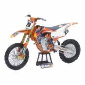 Moto miniature New Ray KTM 450 SXF Marvin Musquin 1/10°