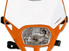 Plaque de phare UFO Firefly orange (orange KTM 98-09)