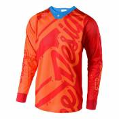 Maillot cross Troy Lee Designs SE Air Shadow honey/orange- M
