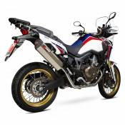 Scorpion Système Complet Serket Parallel Titanium Crf1000l Africa Twin 15-17 Not Homologated One Size Natural