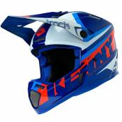 Casque cross Kenny TRACK - FOCUS - NAVY WHITE 2020