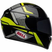 Bell Qualifier XL Flare Gloss Black / High Visibility Yellow