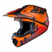 Casque cross HJC CS-MX II Ellusion MC5SF orange/rouge/noir mat - L