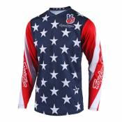 Maillot cross enfant Troy Lee Designs GP star navy- YL